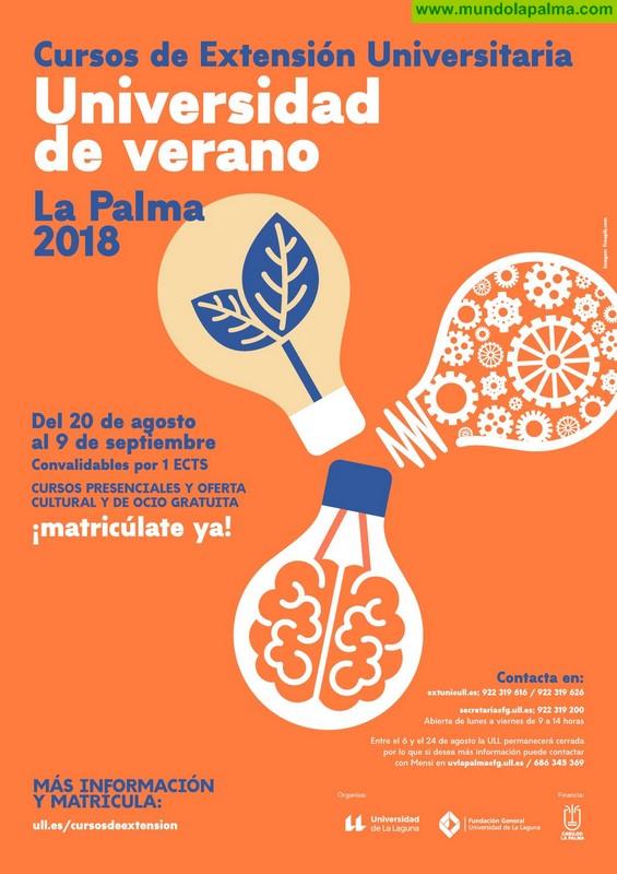 La Universidad de Verano de La Palma lleva a Los Llanos de Aridane un curso sobre economías alternativas y sus posibilidades en la isla