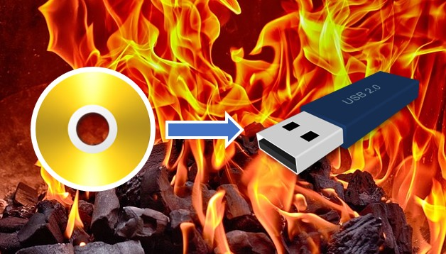 Cara Burning Bootable Windows Ke Flashdisk