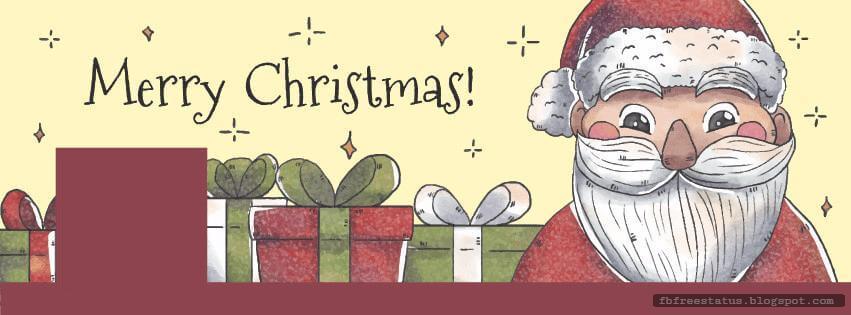 Santa Christmas Facebook Cover Photos