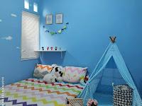 Dekorasi Kamar Tidur Warna Biru Dongker | Menghias Kamar
