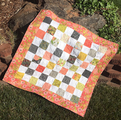 Just Dandy Quilt Finish!!!