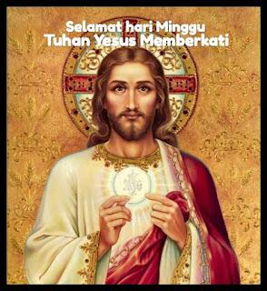 Ucapan selamat hari Minggu Katolik