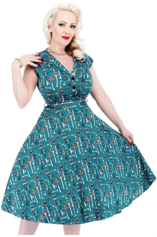 Ipse dixit  Lady V London... Vintage Style anche per Curvy 233da85b559