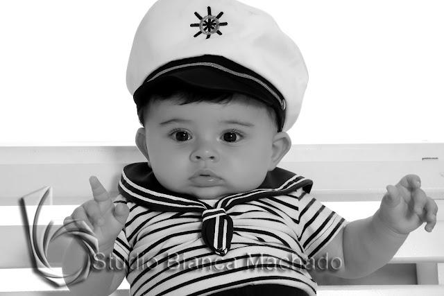 fotos em estudio de bebe