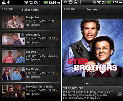 free Android apps for TV and movie fans