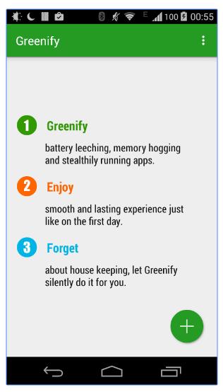 greenify app
