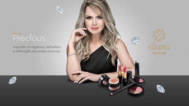 "Maquiagem Eliana ""Aviva Precious"" Jequiti"