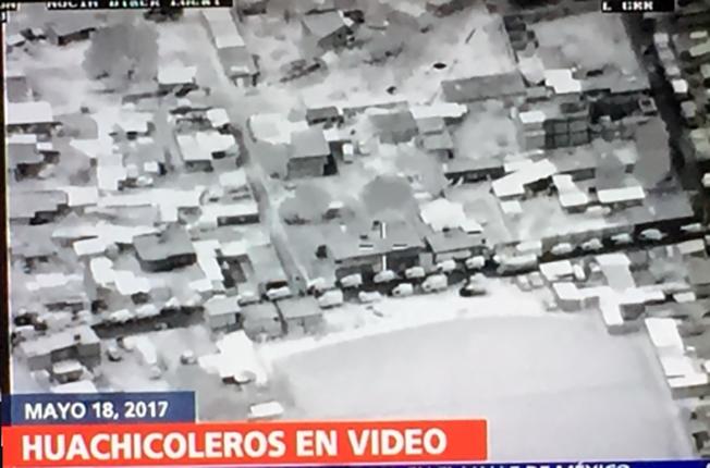 """VIDEO: DRON MUESTRA """"HUACHICOLEO"""" E """"INCAPACIDAD FEDERAL"""" PARA COMBATIRLO."""