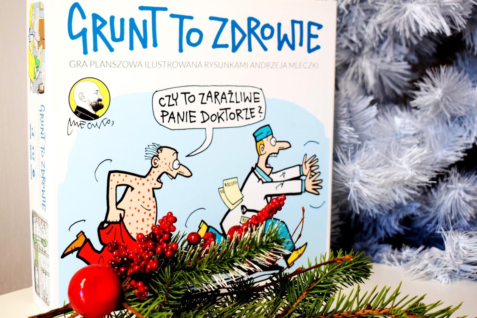 Gry planszowe z rysunkami Andrzeja Mleczki