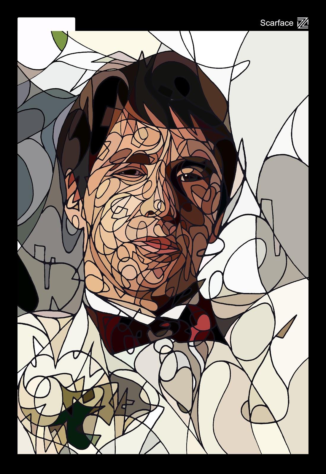 *撩亂草寫勾勒出熟悉KAWS的Pinocchio面孔:Dozow Chen 3