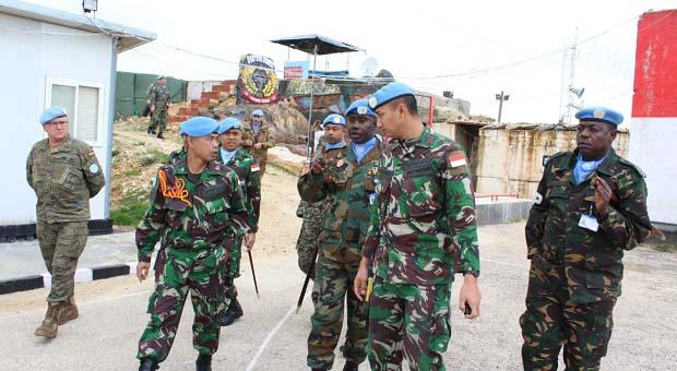 Delegasi UNIFIL kunjungi Markas Indobatt di Lebanon