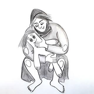 Из белёного льна сшить фигурку. Набить песком. Бровки-домиком, носик, реснички – куском угля, да из пуговиц синих глазёнки пришить крестом – вот и доченька вышла – красавица у меня. - наталия пономарева новодвинск, p_i_r_a_n_y_a, красивые стихи о материнской любви