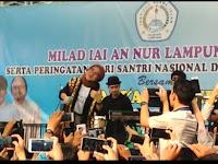 Penampilan Nissa Sabyan Pukau Warga di Lampung