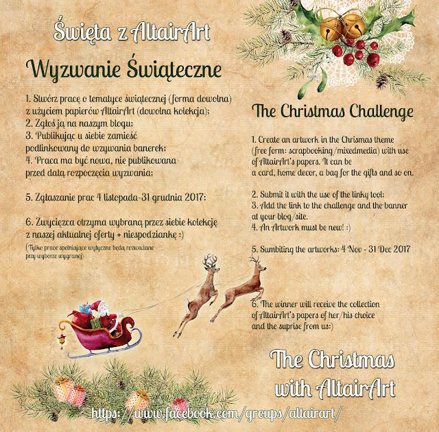 Wyzwanie: Święta z AltairArt || A challenge: Christmas with AltairArt