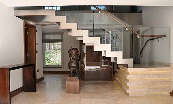 Inspirasi Desain Tangga Rumah Mewah Rancangan Desain