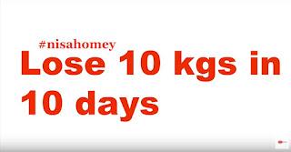 10 hari untuk menurunkan berat badan sebanyak 10 kilogram menurut Indian Diet