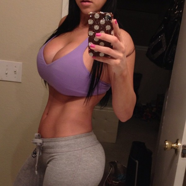 Sexy chick in yoga pants big boobs picture 74