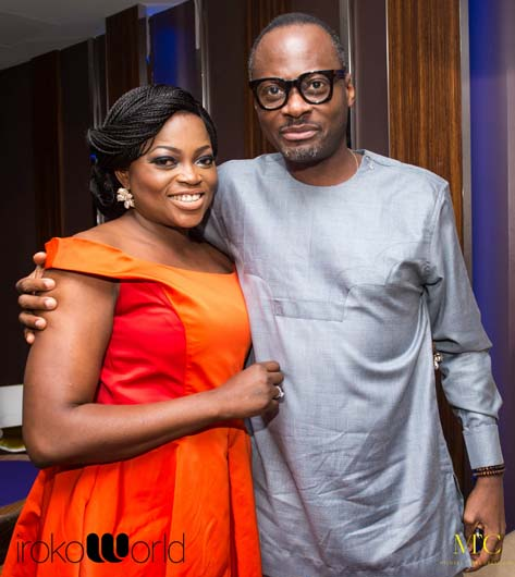 funke akindele in london uk