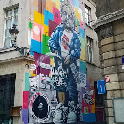 Grafiti de Manneken Pis