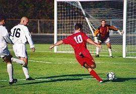 عالم الرياضة لعبة كرة القدم Soccer