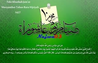 Contoh Khutbah Jum'at Menyambut Tahun Baru Hijriyah 1437