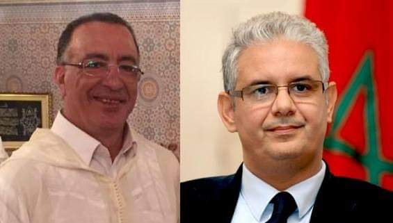 نزار بركة الأمين العام لحزب الإستقلال يقدم واجب العزاء لعائلة المرحوم سعيد طابي