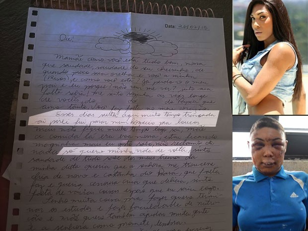 Mãe divulga cartas de Verônica Bolina: 'Só quero minha vida de volta'