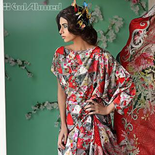 Gul-Ahmed-2017-summer-bamboo-silk-dresses-catalogue