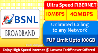 BSNL Hyderabad Fiber Broadband Plans