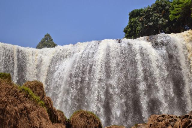 dalat, vietnam, cascade de l'éléphant