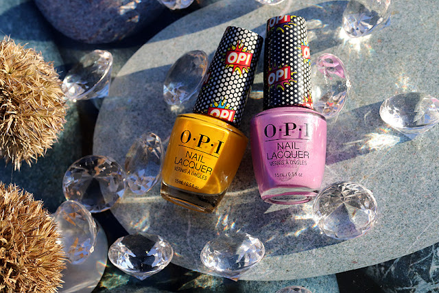opi Pink Bubbly opi Hate to Burst Your Bubble OPI Days of Pop OPI Bumpy Road Ahead OPI Pop Star