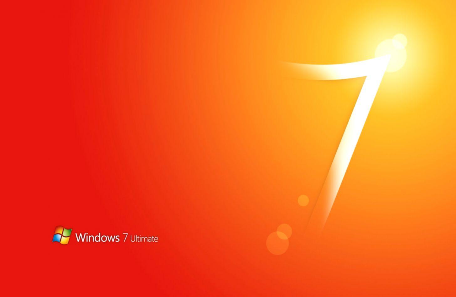Windows 7 Orange Wallpaper Pack Wallpapers