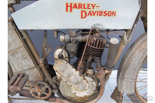 Xe cổ Harley Davidson Model 9B 1913
