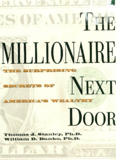 the millionaire next door free pdf book
