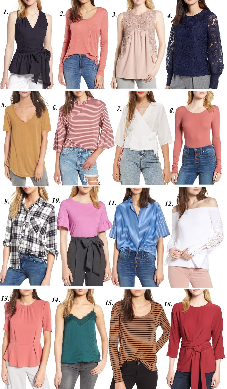 2018 Nordstrom Anniversary Sale: Tops - Something Delightful Blog