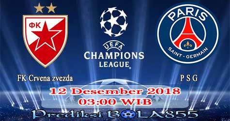 Prediksi Bola855 FK Crvena zvezda vs Paris Saint Germain 12 Desember 2018