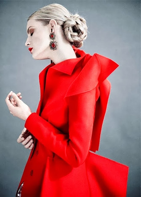 Lady In Red by Cool Chic Style Fashion