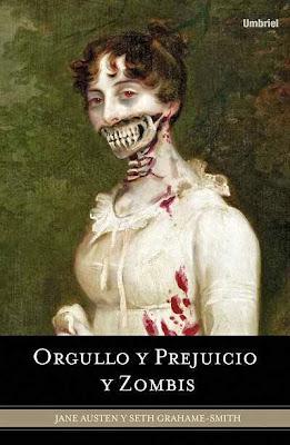 Resultado de imagen de portada orgullo y prejuicio zombie