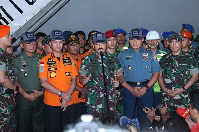 Pencarian Lion Air JT-610 di Perairan Karawang Terkendala Arus Kencang