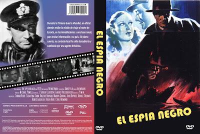 Cover, dvd, carátula: El espía negro | 1939 | The Spy in Black |  U-Boat 29