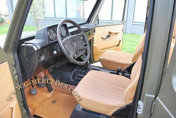 1982 Mercedes Benz G Class 300gd Military 4 Door G Wagon