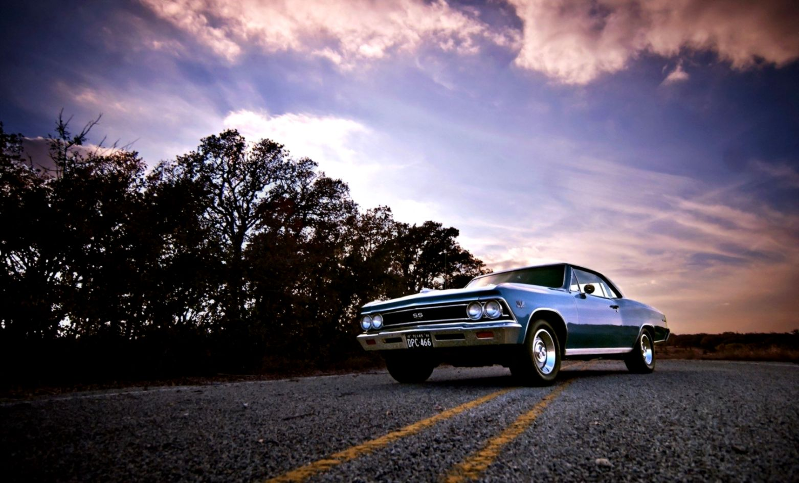 1966 Chevrolet Chevelle SS Wallpaper and Background Image