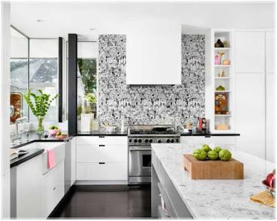 dapur minimalis modern ukuran 2x3