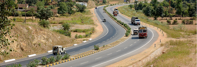 Roads development by NHAI