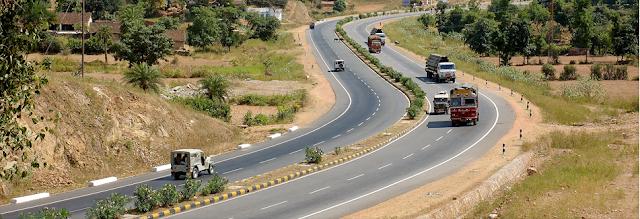 Roads development by NHAI