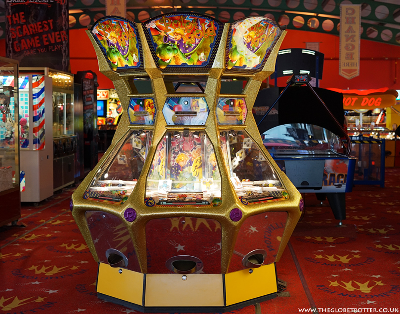 Gaming arcade at Wellington Pier in Great Yarmouth