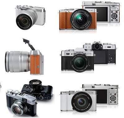Gambar Daftar Harga Kamera Mirrorless Fujifilm