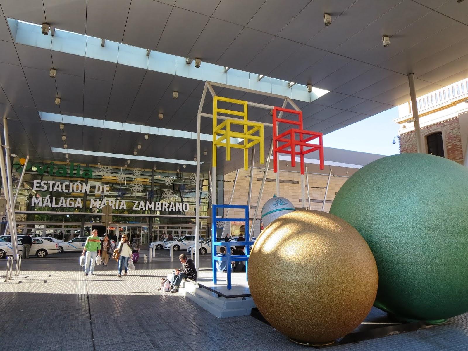 Estacion Maria Zambrano in Málaga, Spain