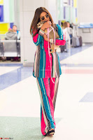 Priyanka Chopra in Colorful Jumpsuit arriving at JFK Airport New York 18 June 2017 ~  Exclusive 013.jpg