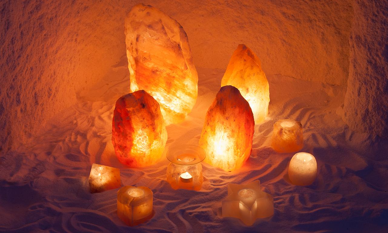 Lampada Di Cristallo Di Sale Ionizzante : Lampada naturale terapeutica a forma di piramide roccia di